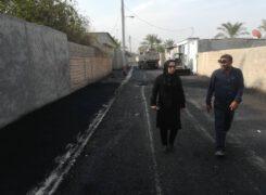 فعالیتهای عمران شهری شهرداری آب پخش در هفته ای که گذشت+تصاویر