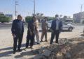 پروژه بهسازی خیابان آزادی با جدیت در حال اجراست/بهره برداری در دهه فجر سالجاری-رئیس شورای شهر آب پخش:از پروژه هایی که موجب رفاه و آسایش شهروندان شود حمایت می کنیم
