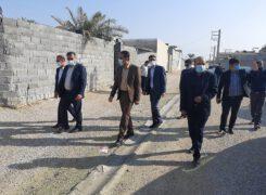 عملکرد شهرداری آب پخش در حوزه عمران شهری قابل قبول است+تصاویر بازدید از پروژه ها